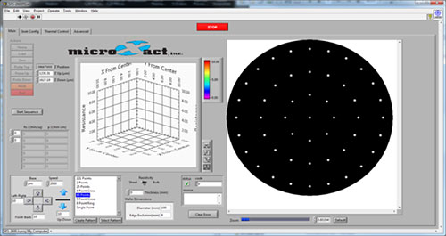 MicroXact Resistivity Measurement Automation Software