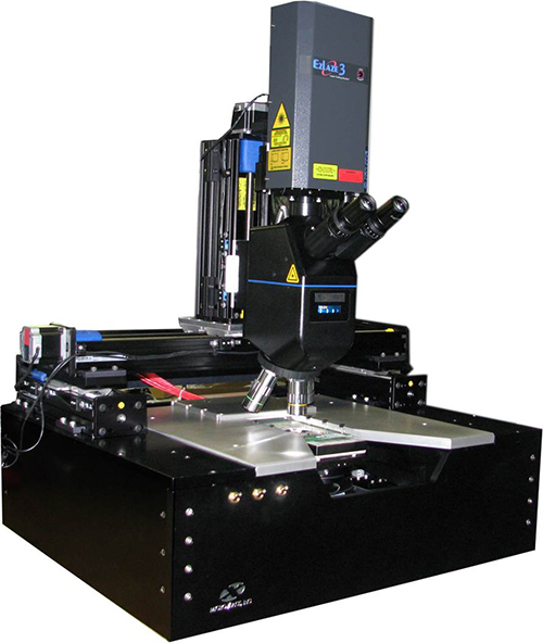 MicroXact LCS-4000 Series Analytical Probe Station with Laser Cutting System